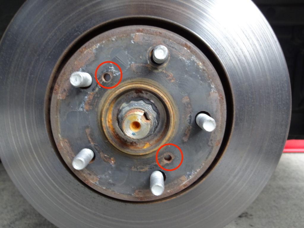 ブレーキローターの交換方法3