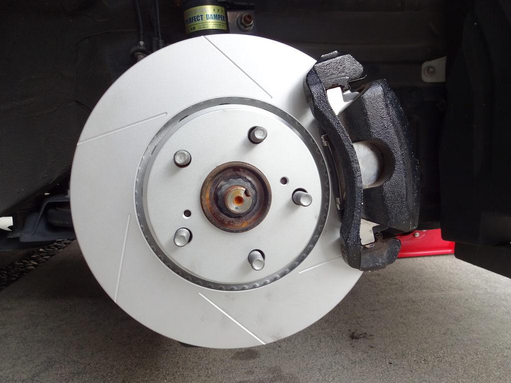 ブレーキローターの交換方法5