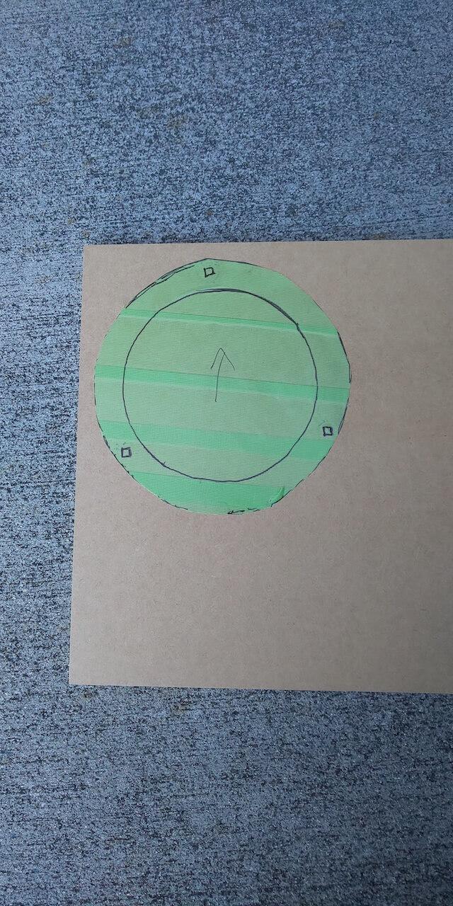インナーバッフルを自作する方法1